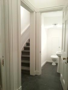 Downstairs Hall and Toilet, Bernard Street