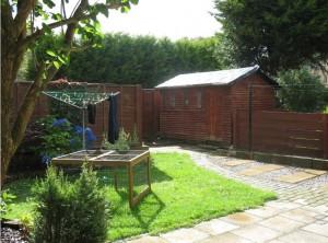 Back Garden, Crathie Place