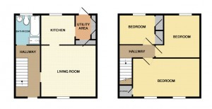 Floor Plans, Balbeggie Terrace