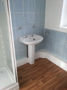 Shower room, Forres Crescent