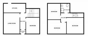 Floor Plans, Forres Crescent