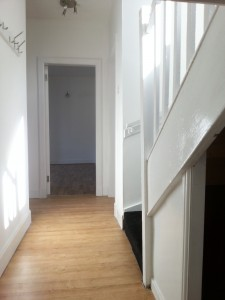 Downstairs hall, Forres Crescent