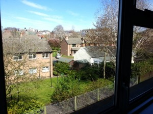 View from front bedroom