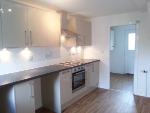 Kitchen / Dining, With Utility Room Beyond