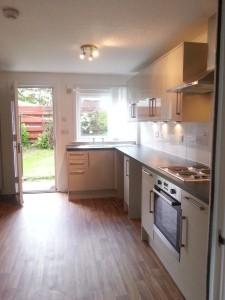 Kitchen / Dining, With Garden Beyond