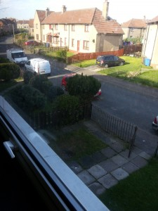 Forres Crescent from bedroom