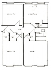 Floor Plan, Commercial Street
