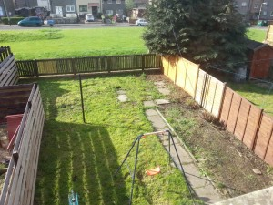 Back Garden, Liff Terrace