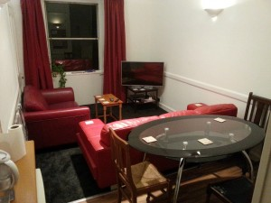 Living / Dining Area, Leith Walk