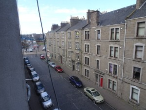 View from lounge along Balmore Street