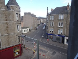 View from lounge to Albert Street